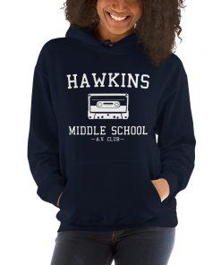 Hawkins Middle School Stranger Things Hoodie