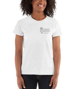 Percy Shelley Political Slogan Women T shirt