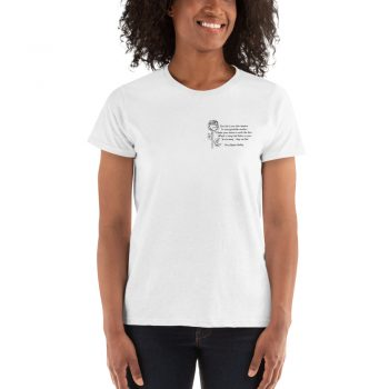Percy Shelley Political Slogan Women T shirt