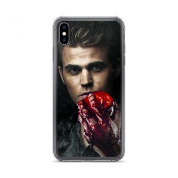 Stefan Salvatore Vampire Diaries Custom iPhone X Case