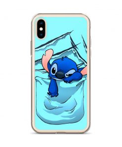 Disney Lilo Stitch Pocket Custom iPhone X Case