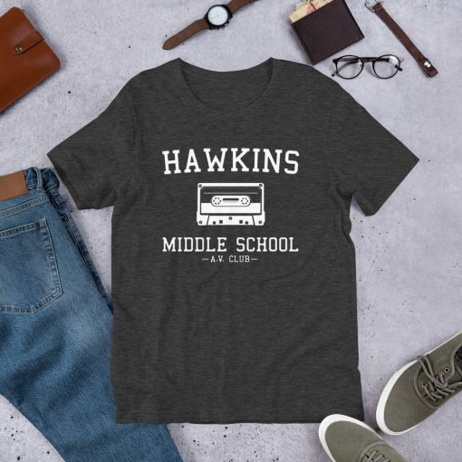 Stranger Things Hawkins AV Club Unisex T Shirt