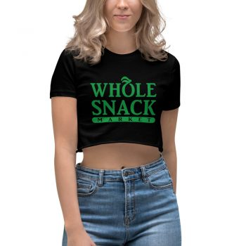Whole Snack Market Women's Crop Top