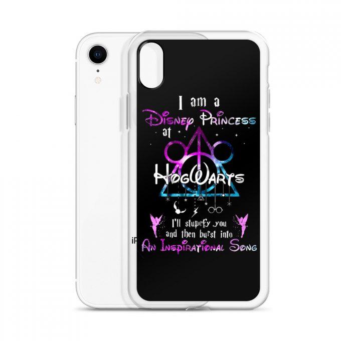 I'm A Disney Princess At Hogwarts Custom iPhone X Case