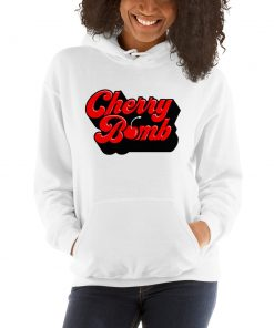 Vintage Cherry Bomb Unisex Hoodie