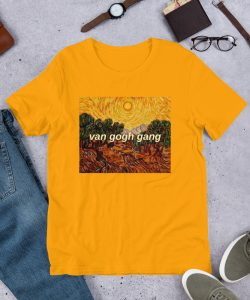 Van Gogh Gang Aesthetic T Shirt