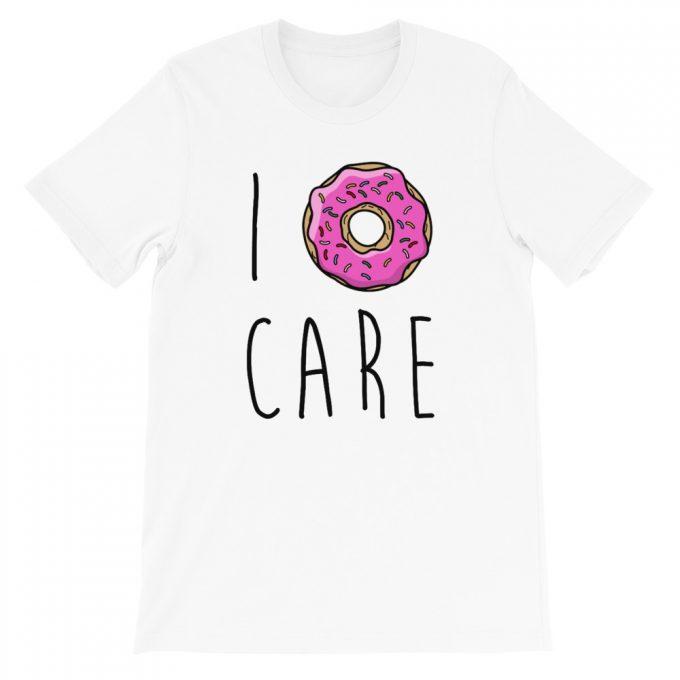 I Donut Care Aesthetic T Shirt
