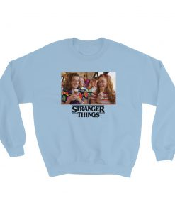 Stranger Things Eleven And Max Scene Sweatshirt