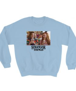 Stranger Things Eleven And Max Scene Sweatshirt