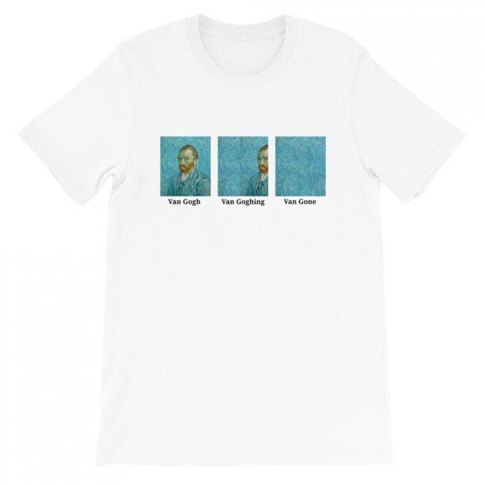 Van Gone Van Gogh Gang Aesthetic T Shirt