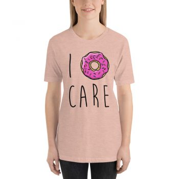 I Donut Care Aesthetic T Shirt