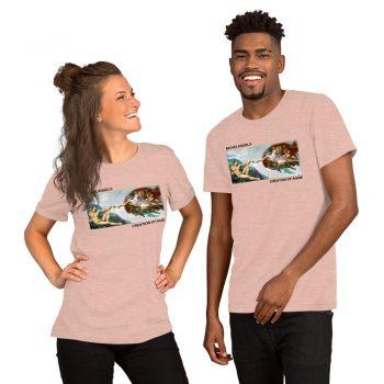 Michelangelo Creation Of Adam Aesthetic T Shirt