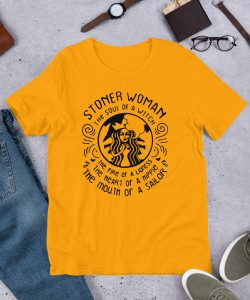 Stoner Woman Soul Of A Witch Women T shirt