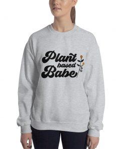 Plant Based Babe Graphic Sweatshirt
