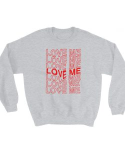Love Me Aesthetic Grunge Sweatshirt