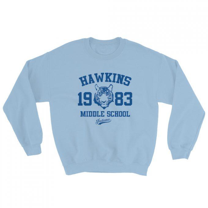 Stranger Things Indiana Hawkins Middle School Sweatshirt