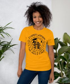 Stoner Woman Soul Of A Witch Women T shirt