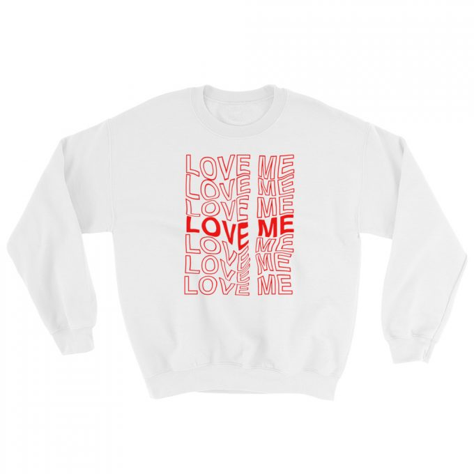 Love Me Aesthetic Grunge Sweatshirt