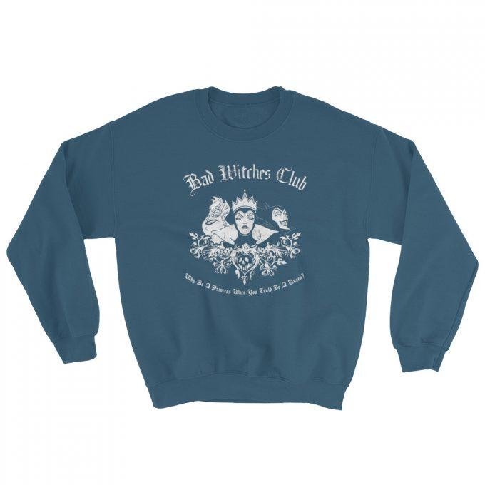 Maleficent Queen Bad Witch CLub Unisex Sweatshirt