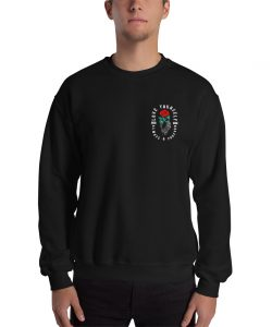 Love Yourself Aesthetic Rose Sweatshirt