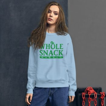 Whole Snack Market Food Fun Sweatshirt