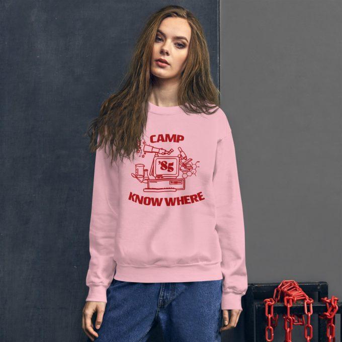 Camp Know Where Stranger Things Sweatshirt