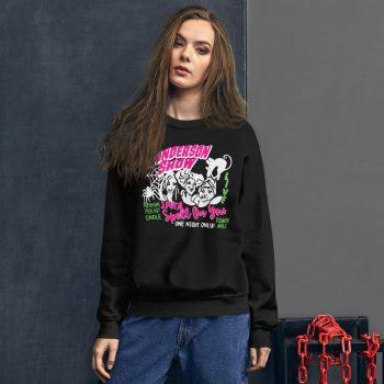 Hocus Pocus Sanderson Sisters Show Sweatshirt