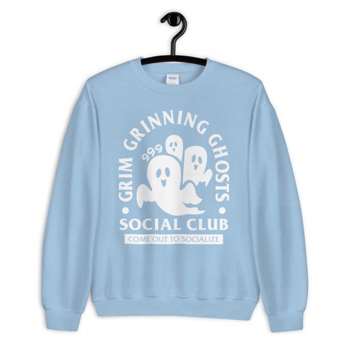 Grim Grinning Ghost Social Club Sweatshirt