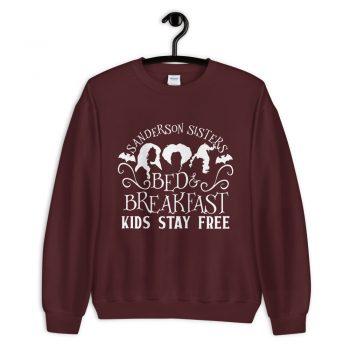 Sanderson Sister bed And Breakfast Halloween Sweatshirt