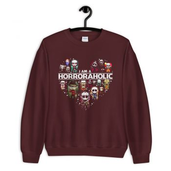 I Am A Horroraholic Halloween Sweatshirt