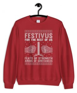 Festivus For The Rest Of Us Seinfeld Ugly Christmas Sweater