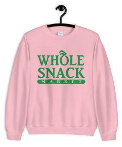 Whole Snack Market Food Fun Sweatshirt