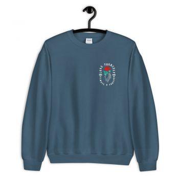 Love Yourself Aesthetic Rose Sweatshirt