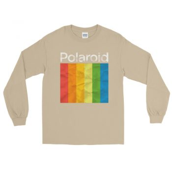 Polaroid Rainbow Color Long Sleeve T-Shirt