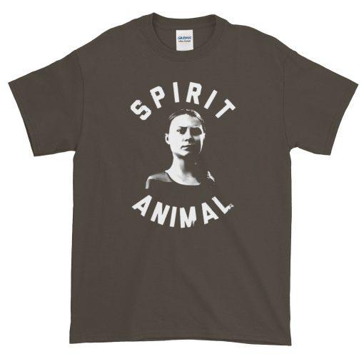 Cheap Greta Thunberg Climate Spirit Animal T-Shirt