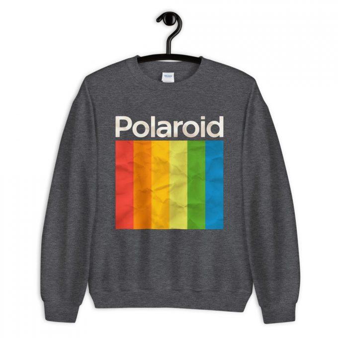 Cheap Polaroid Colorful Unisex Sweatshirt