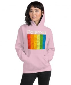 Cheap Polaroid Rainbow Colorful Unisex Hoodie