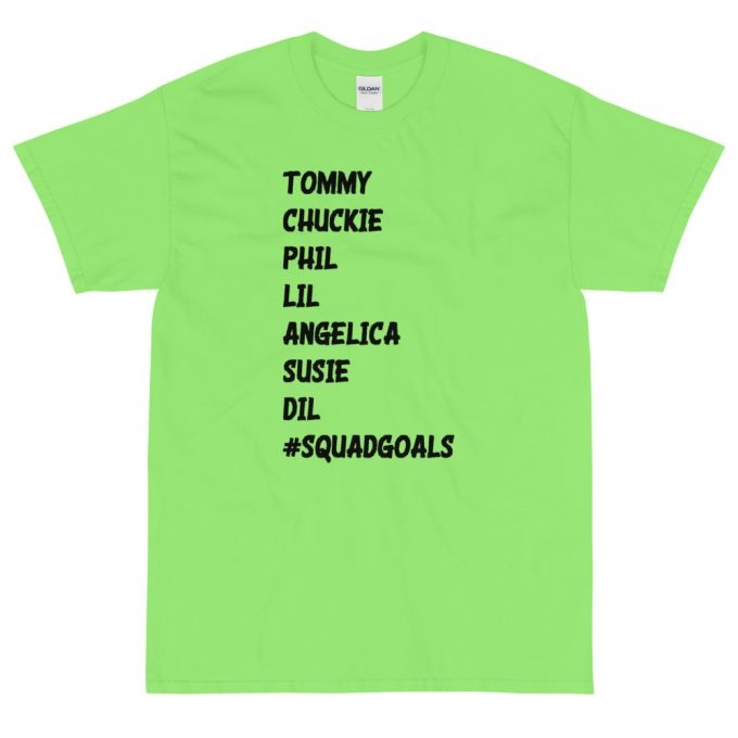 Tommy Chuckie Phil Lil Angelica Squad Goals Vintage T-Shirt