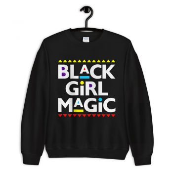 Melanin Slogan Black Girl Magic Unisex Sweatshirt