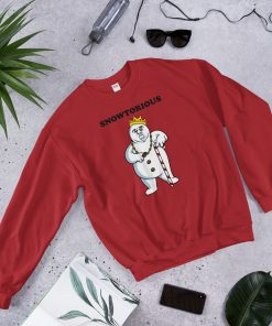 Cheap Snowtorious Big Biggie Christmas Sweatshirt