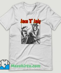 1940s Amos N Andy Comedy Show T Shirt Design