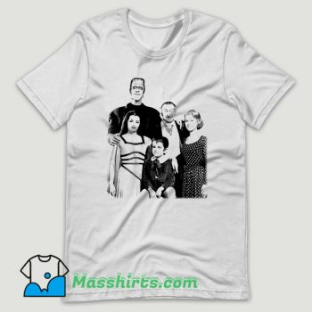 1960S The Munsters Herman T Shirt Design