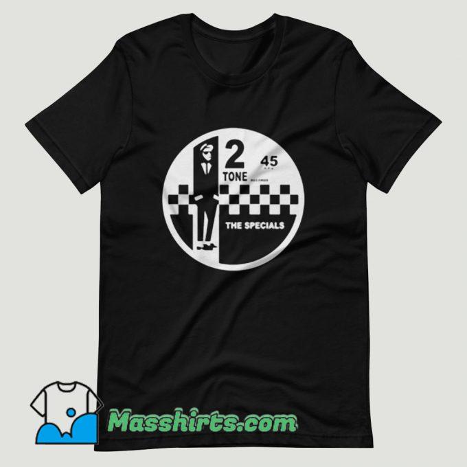 2 Tone Records The Specials Retro Music T Shirt Design
