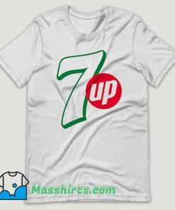 7 UP Drink Coke T Shirt Design