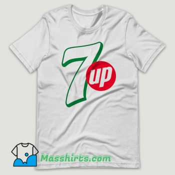 7 UP Drink Coke T Shirt Design