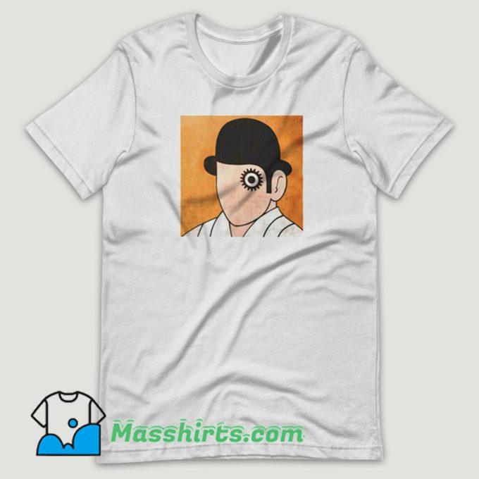 A Clockwork Orange Stanley Kubrick T Shirt Design