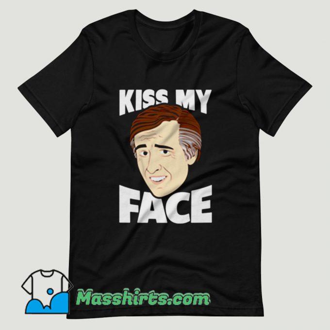 ALAN PARTRIDGE Kiss My Face T Shirt Design