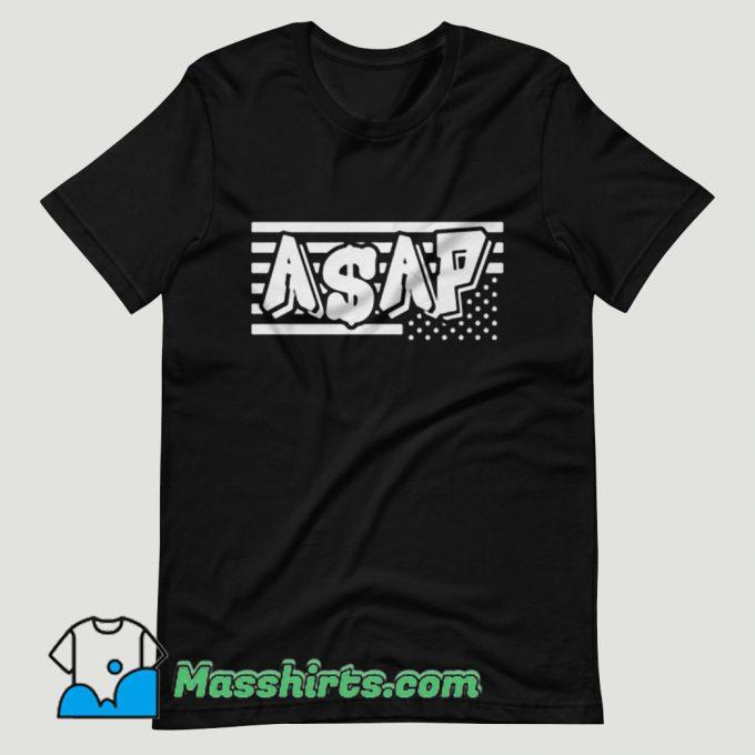 ASAP Rocky Merica Mob T Shirt Design