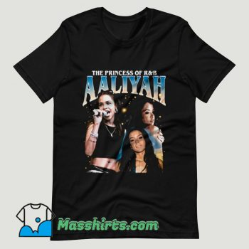 Aaliyah Queen RnB Rap T Shirt Design