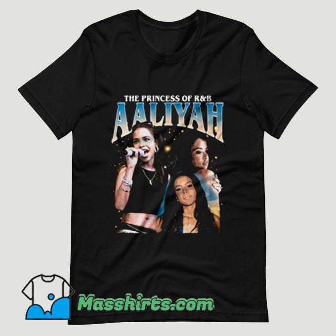 Aaliyah Queen RnB Rap T Shirt Design